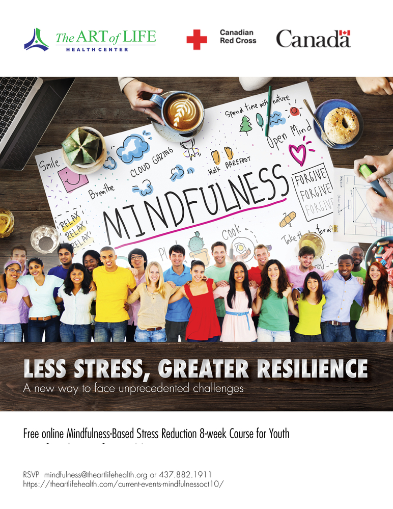 FREE Mindfulness-based Stress Reduction Course for Youth
