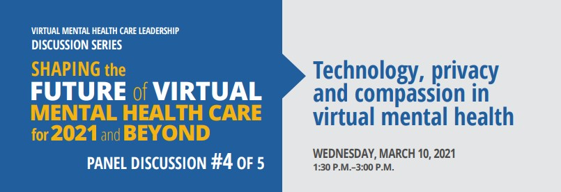 Technology, privacy and compassion in virtual mental health