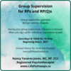 Warm and Cozy Group Supervision for RPs and RPQs