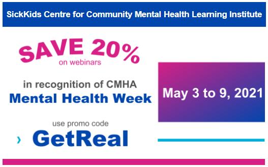 CMHA MHW 20% promo newsletter [3)