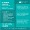 Alternate Realities: How to support clients who experience psychosis