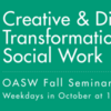 OASW Learning Centre: Fall Seminar Series