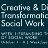 OASW Fall Seminar Series: Week 1: Expanding the Influence Of Social Work