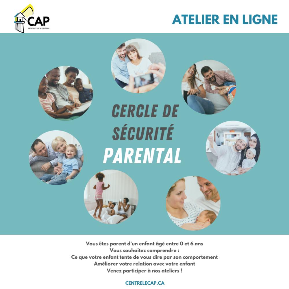 Atelier en ligne : Cercle de sécurité parental