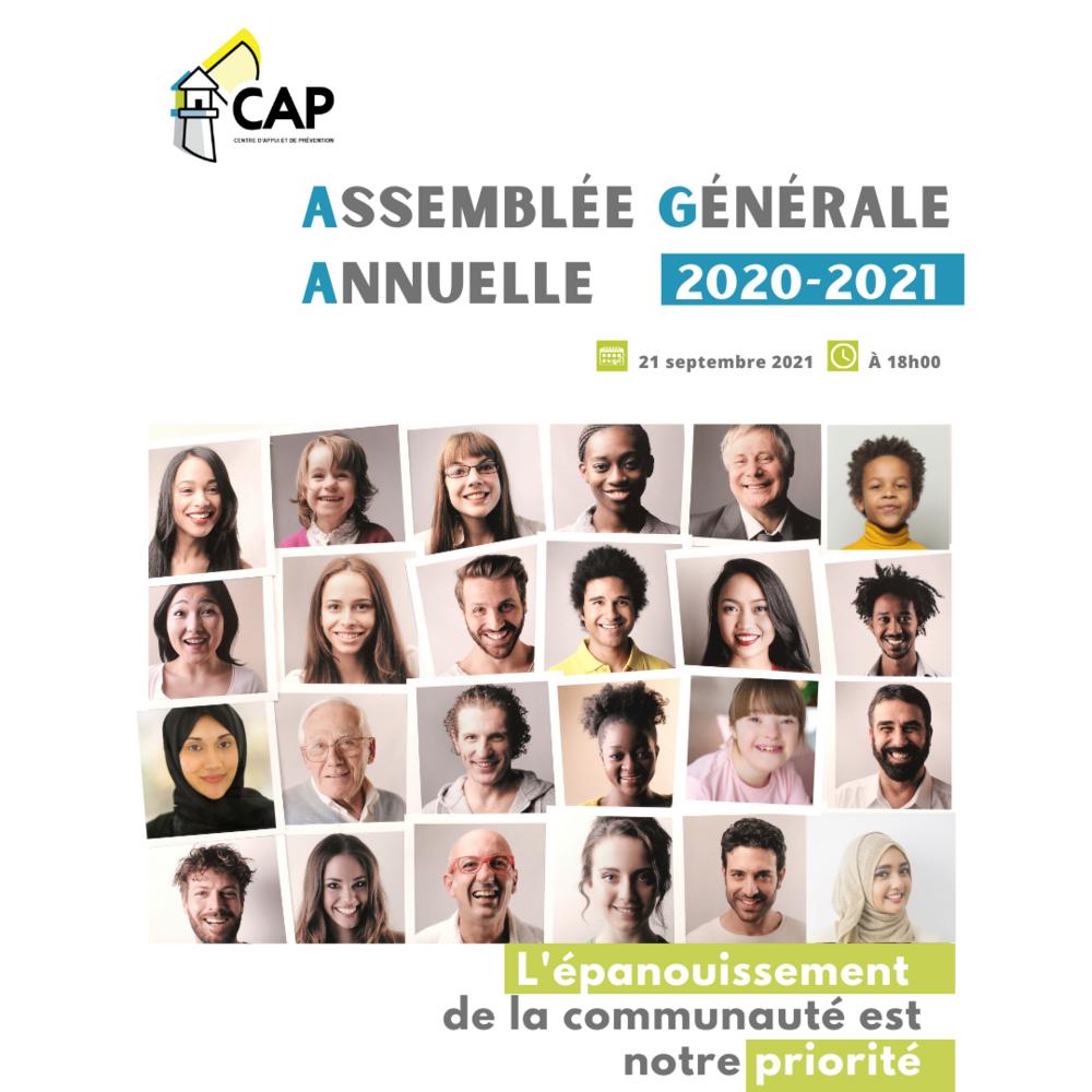 """Assemblée Générale Annuelle """"Le CAP"""""""