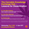 The Cannabis Knowledge Exchange Hub - Lessons for Dissemination